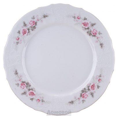 Купить Тарелка Бледные Розы Бернадотт плоская 25см