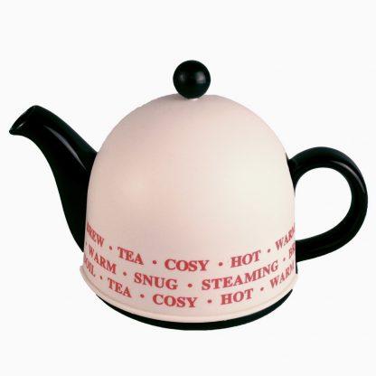 Купить Чайник заварочный Домик 800мл с метал.фильтром черный керамика в Санкт-Петербурге по недорогой цене и с быстрой доставкой.
