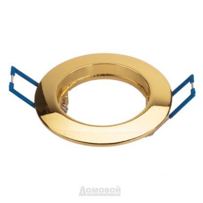 Купить Светильник встраиваемый ЭРА KL1 GD  литой простой MR16