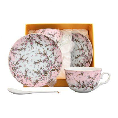 Купить Набор чайный Розовая фантазия 2/4пр