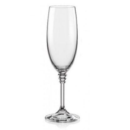 Купить Набор бокалов  д/шампанского Оливия 6шт 190мл гладкое бесцветное стекло в Санкт-Петербурге по недорогой цене и с быстрой доставкой.
