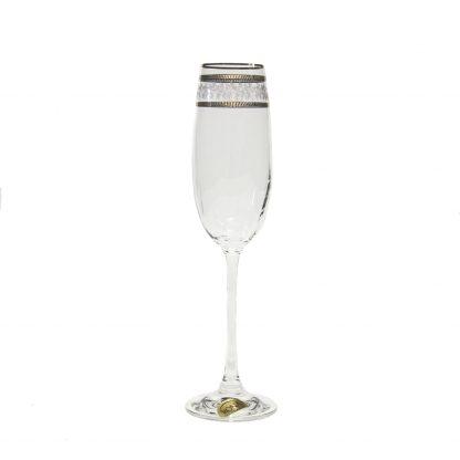 Купить Набор бокалов д/шампанского Эсприт Орнамент золотой