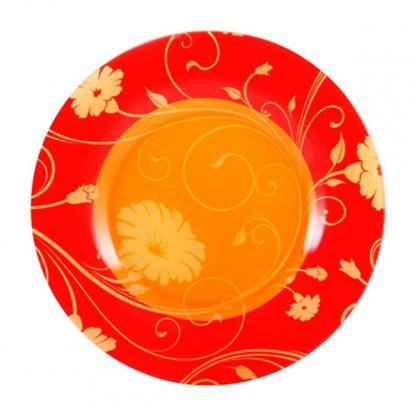 Купить Тарелка Serenade Orange плоская 26см