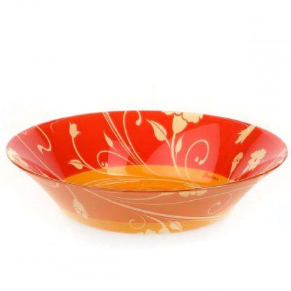 Купить Тарелка Serenade Orange глубокая 22см