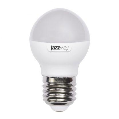 Купить Лампа светодиодная PLED G45  7w 3000K 530 Lm E27 Jazzway в Санкт-Петербурге по недорогой цене и с быстрой доставкой.