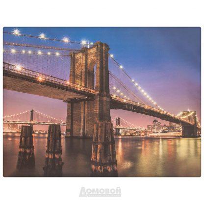 Купить Картина Мост 50*65см в Санкт-Петербурге по недорогой цене и с быстрой доставкой.