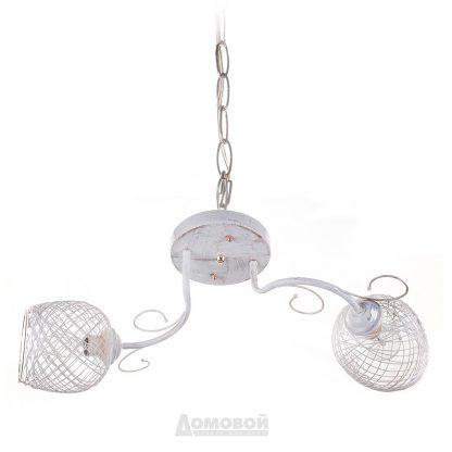 Купить Люстра 4334/2 2хЕ27х60Вт металл/стекло в Санкт-Петербурге по недорогой цене и с быстрой доставкой.