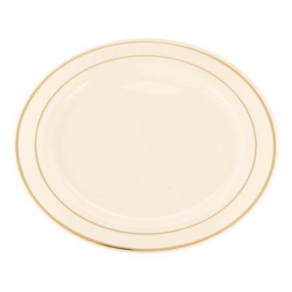 Купить Набор тарелок одноразовых пласт. Премиум