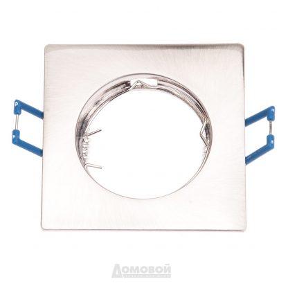 Купить Светильник встраиваемый ЭРА KL2 SN литой квадрат MR16