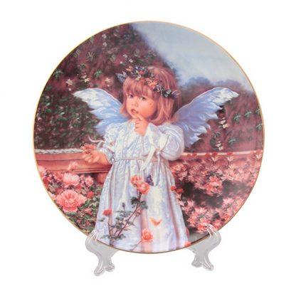 Купить Тарелка декоративная Ангелочек