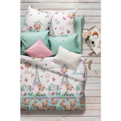 Купить Комплект постельного белья Сова и Жаворонок Роз де Пари 1