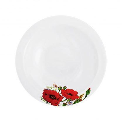 Купить Тарелка Красные маки суповая 20см