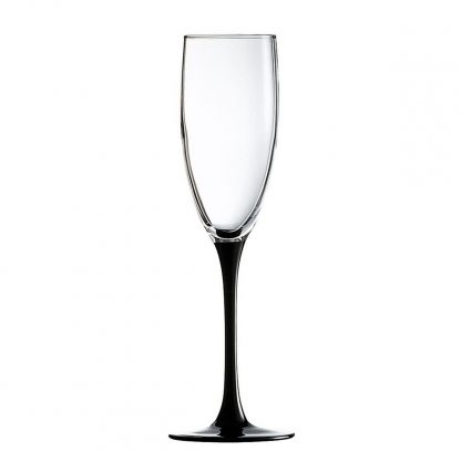 Купить Набор бокалов  д/шампанского Домино 6шт 170мл цветная ножка стекло в Санкт-Петербурге по недорогой цене и с быстрой доставкой.