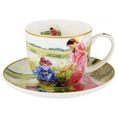 Купить Пара чайная На лугу