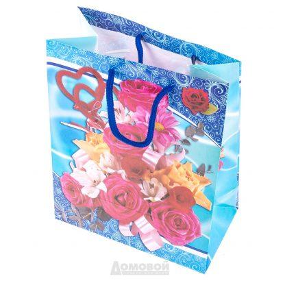 Купить Пакет подарочный 18х23х10см в Санкт-Петербурге по недорогой цене и с быстрой доставкой.