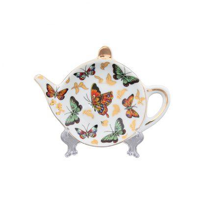 Купить Подставка под чайный пакетик Бабочки 11см
