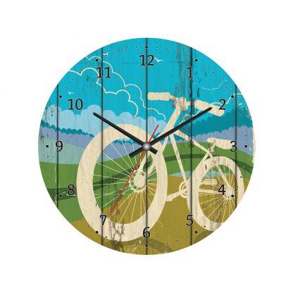 Купить Часы настенные Велосипед