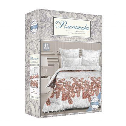 Купить Комплект постельного белья Романтика Адель Евро