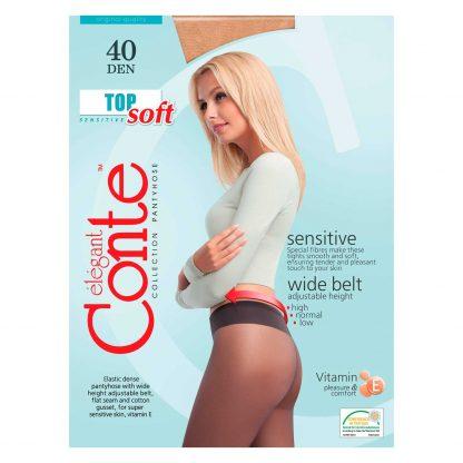 Купить Колготки женские Top Soft 40 с витамином Е