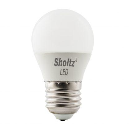 Купить Лампа светодиодная SHOLTZ 7W E27 3000К шар в Санкт-Петербурге по недорогой цене и с быстрой доставкой.