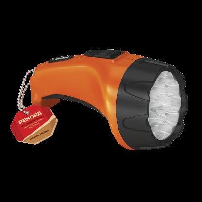 """Купить Фонарь аккумуляторный """"РЕКОРД"""" PM-0115 Orange в Санкт-Петербурге по недорогой цене и с быстрой доставкой."""