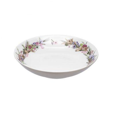 Купить Тарелка Crown of Flowers суповая 21см