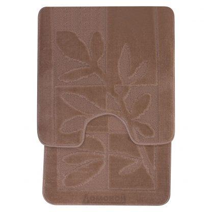 Купить Набор ковриков для ванной и туалета Дорофей 50x80 и 55x55см