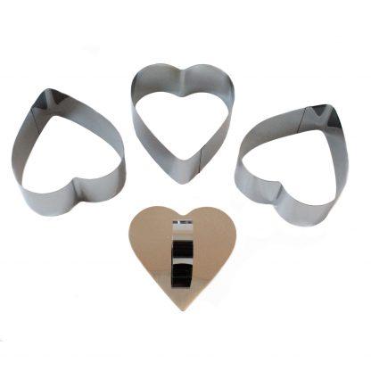 Купить Набор форм VETTA Сердце 4пр.