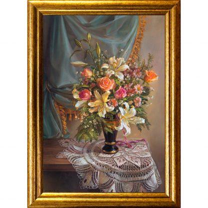 Купить Картина в раме Букет I 30х20см в Санкт-Петербурге по недорогой цене и с быстрой доставкой.