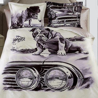 Купить Комплект постельного белья Serg Look Pet Евро