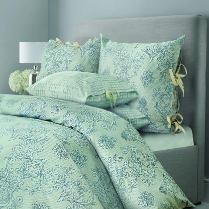 Купить Комплект постельного белья SL Chalet грозовой синий Евро