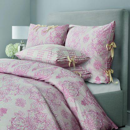 Купить Комплект постельного белья SL Chalet пудровая роза Евро