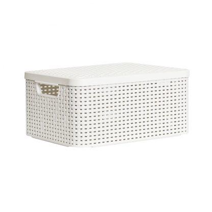 Купить Корзина д/хранения CURVER Rattan Style Box