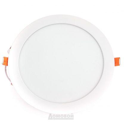 Купить Светильник встраиваемый ЭРА LED 1-18 светодиодный круглый LED 18W 220V 4000K в Санкт-Петербурге по недорогой цене и с быстрой доставкой.
