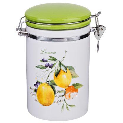 Купить Банка д/сыпучих продуктов Итальянские лимоны