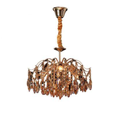 Купить Люстра ADH 95159/0500 6*Е14*40Вт хрусталь/золото в Санкт-Петербурге по недорогой цене и с быстрой доставкой.