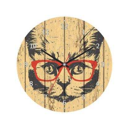 Купить Часы настенные Кот