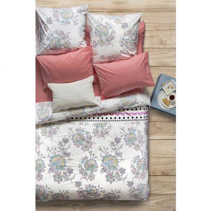 Купить Комплект постельного белья Сова и Жаворонок Магнолия Евро