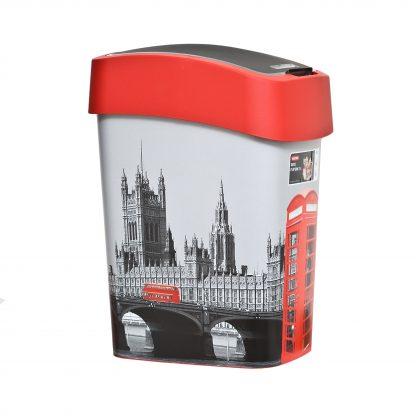 Купить Ведро д/мусора CURVER Deco Flip Bins London