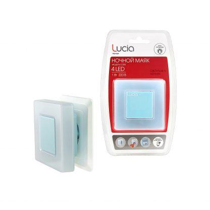 Купить Ночник ЛЮЧИЯ LC-250 квадратный 4 светодиода