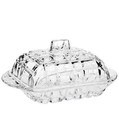 Купить Масленка Кристалл 17х11см стекло в Санкт-Петербурге по недорогой цене и с быстрой доставкой.