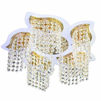 Купить Люстра Символ Света CC1290/5 5*Е27*60Вт LED ПДУ в Санкт-Петербурге по недорогой цене и с быстрой доставкой.