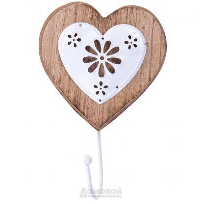 Купить Крючок декоративный Сердечко