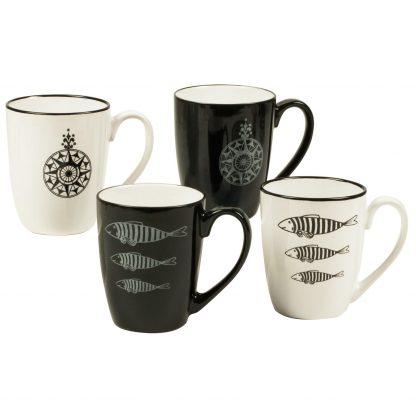 Купить Кружка Black & White 350мл керамика в Санкт-Петербурге по недорогой цене и с быстрой доставкой.