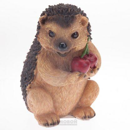 Купить Фигура садовая Ежик с ягодами