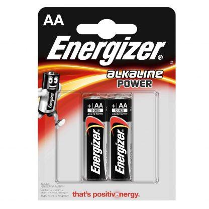 Купить Элемент питания Energizer Power Alkaline LR6 BP2 в Санкт-Петербурге по недорогой цене и с быстрой доставкой.