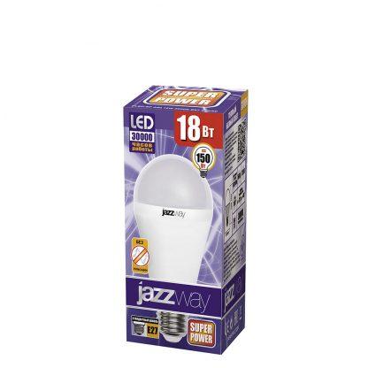 Купить Лампа светодиодная PLED A60 18w 3000K E27 Jazzway в Санкт-Петербурге по недорогой цене и с быстрой доставкой.