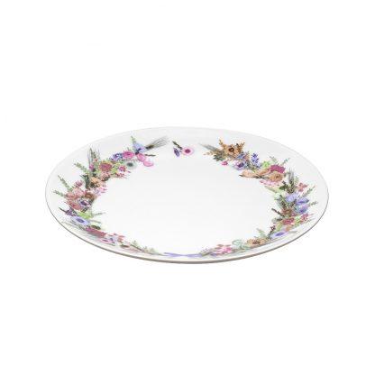 Купить Тарелка Crown of Flowers десертная 19см