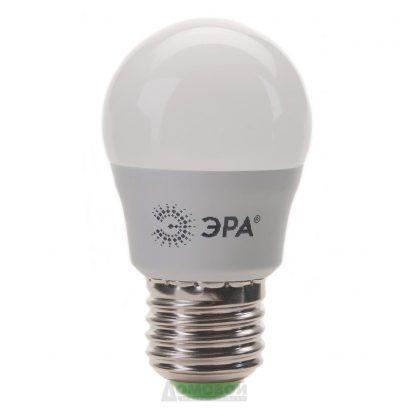 Купить Лампа светодиодная ЭРА LED smd Р45-6w-827-E27 ECO (10/100/3600) в Санкт-Петербурге по недорогой цене и с быстрой доставкой.