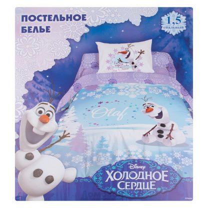 Купить Комплект постельного белья Disney Олаф размер: под. 148х210см